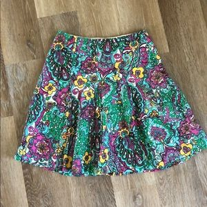 Vintage Lilly Pulitzer pleated skirt